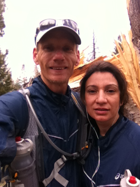 Norma and I ready for the Humphrey's, Weatherford, Kachina loop.