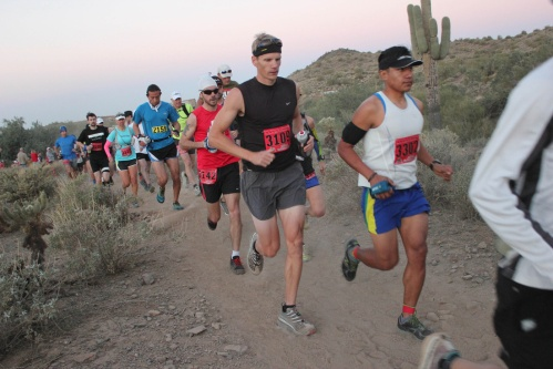 50k start. Courtesy of Aravaipa Running.