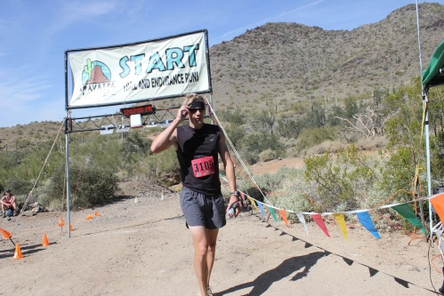 "Read my lips - ""Whew!""  Courtesy of Aravaipa Running."